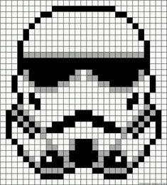 Ideas for crochet amigurumi star wars storm troopers Crochet Star Stitch, Star Wars Crochet, Crochet Stars, Crochet Stitches, Crochet Granny, Star Wars Quilt, Hama Beads Patterns, Beading Patterns, Crochet Patterns