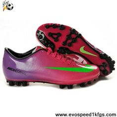 Fashion Nike Mercurial Vapor IX AG Red Green Purple Football Boots Shop