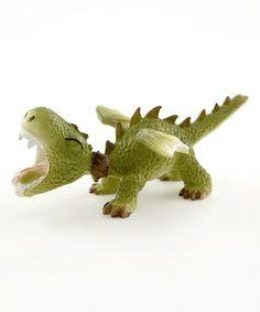 Loving this Mini Dragon Roaring Figurine on #zulily! #zulilyfinds