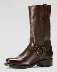 Harness 12R Boot, Dark Brown by Frye at Neiman Marcus.