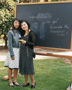 Chalkboard photobooth