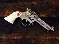 Hubley Texan Jr Hubley Cap Gun Red Star by on Etsy 2nd Amendment, Guy Stuff, Texans, Hand Guns, Jr, 1950s, Trending Outfits, Etsy, Vintage