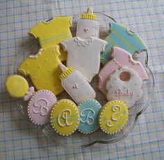 Baby cookies by another fantastic cookie decorator
