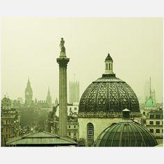 Keri Bevan- Rooftops of London 20x16