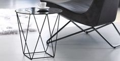 Contemporary metal side table - JOCO by EOOS - Walter Knoll