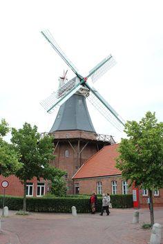 Steen'sche Mühle Adres: Mühlenstraße 6 Plaatsnaam: Ditzum Gemeente: 26844 Jemgum