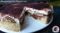 Blondynka Gotuje: Ciasto Tiramisu z Kremem Kawowym