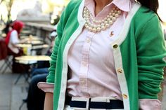 pink green and white... Fast Food & Fast Fashion: Warm Weather Outfits