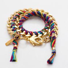 (2) Fab.com | Double Wrap Bracelet Carnival