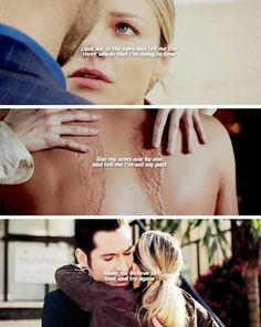 #Lucifer || inspiring words in a choice to change from negative energy and raise in  loving energy || Kiss my scars one by one and tell me I'm not my past ...make me believe in love and try again !