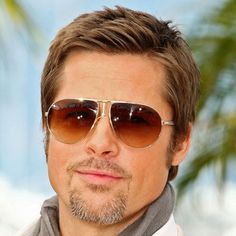 Brad Pitt Goatee - Best Brad Pitt Haircuts: How To Style Brad Pitt's Hairstyles, Haircut Styles, and Beard #menshairstyles #menshair #menshaircuts #menshaircutideas #menshairstyletrends #mensfashion #mensstyle #fade #undercut #bradpitt #celebrity #bradpitthair Celebrity Hairstyles, Hairstyles Haircuts, Haircuts For Men, Brad Pitt Haircut, Boy Cuts, Bleach Blonde, Famous Men, Facial Hair, Hair Trends