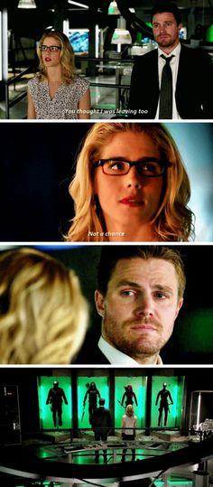 Arrow - Felicity & Oliver #4.23 #Olicity <3