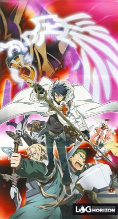 Log Horizon 1 Blue Ray Poster/ Cover