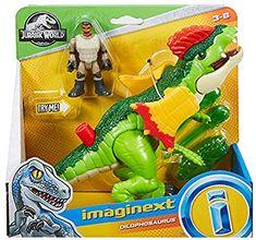 Jurassic World Dilophosaurus & Park Worker Imaginext Figures Jurassic World Dinosaur Toys, Dinosaur Gifts, Power Rangers Toys, Power Rangers Ninja Steel, Kingdom Movie, Kids Bath Toys, Cool Dinosaurs, Spider Art