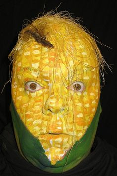 Corn Face Painting....!