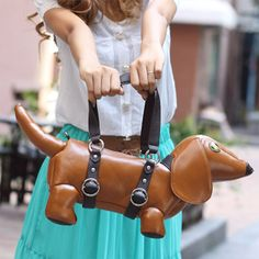 {Dachshund Bag} where does this awesome bag come from? anyone know?