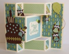 pinterest cards stampin up | card I made a couple of days ago for Scott's Uncle.