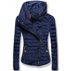 Dámská zimní bunda Terry modrá AKCE - modrá