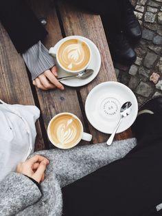 coffee in Berlin at Bonanza, Mauerpark. taken by larisazz