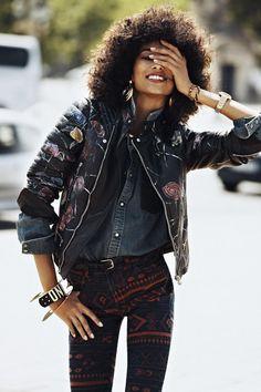 Anais Mali for Vogue Paris - August 2012