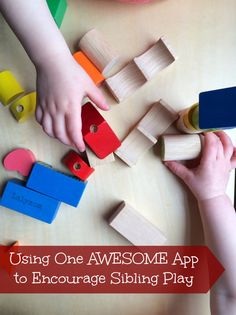 Awesome Free Kids App that Encourages Sibling Play and Sibling Bonding Activities #Knoala *so helpful!