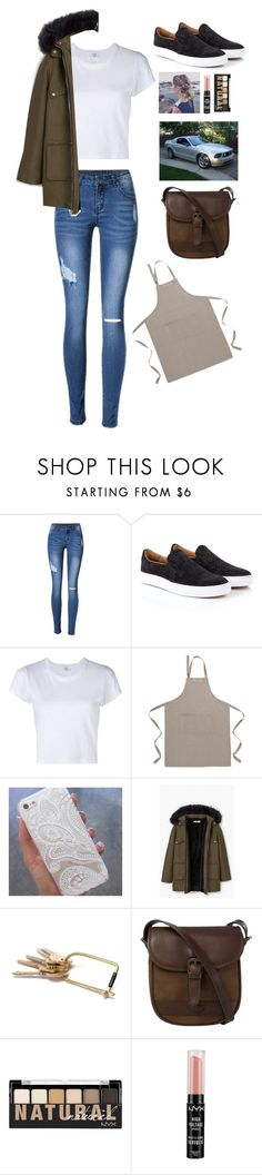 """""""Untitled #471"""" by candydreamsxoxo ❤ liked on Polyvore featuring Vivienne Westwood, RE/DONE, David Jones, MANGO, DUBARRY and NYX"""
