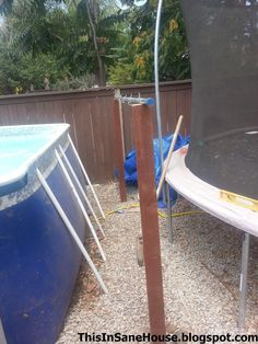 A DiY tutorial on how to make a solar cover reel for your above ground pool.