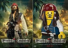 LEGO Pirates! Movieposter :) #PP LOL