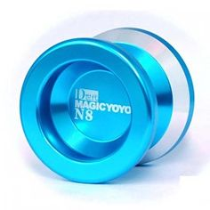 The Magic yoyo is a long spinning yo-yo made from high grade Anodized Aluminum. It weighs 66.2 grams, which is slightly heavier than other yo yos of the same size. The increased density delivers greater momentum and increased challenge, and the wing shape of the Dash makes string tricks easier.