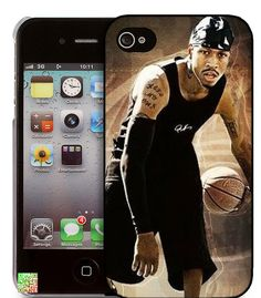 97d110b3b28a Basketball star Allen iverson iPhone 5 Case iPhone 4 by eternalDIY