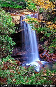 Ohiopyle State Park-Cucumber Falls (047 - October 25, 2006)