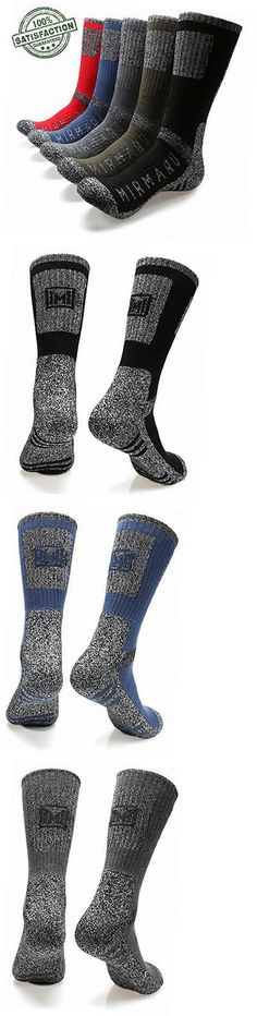 Socks 181362: M203-Men S 5 Pairs Multi Performance Outdoor Sports Hiking Trekking Crew Socks -> BUY IT NOW ONLY: $38.91 on eBay!