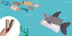 3 Fun DIY Sea Creatures: Toilet Paper Roll Crafts for Kids Space Crafts For Kids, Summer Crafts For Kids, Kids Crafts, Toilet Paper Roll Crafts, Cardboard Crafts, Paper Crafts, Cool Diy, Fun Diy, Astronomy Crafts