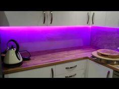 Led Kuchenleuchte Decke ~ Pin by makeover house on kitchens blue led lights