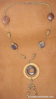 Necklace with tagua beads - Coqueta - #EcuadorianHands - Flickr