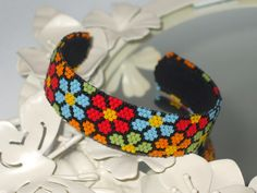 Bright Flowers Cuff | Flickr - Photo Sharing!