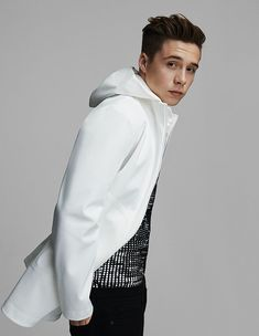 Brooklyn Beckham Covers Rollacoaster in Polo Ralph Lauren