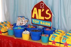 Toy Story Birthday Party Ideas | Photo 1 of 15 | Catch My Party