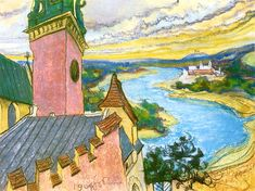 The Athenaeum - Bend of the Vistula (Stanislaw Wyspianski - )