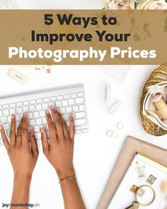 One of the scariest things about running a photography business is figuring out your photography pricing.Once you've done all the math and know how to profitably price your photography, the next step is to present and display your prices so that your clients see you're worth what you're asking to be paid.Below, I'm critiquing the photography pricing list of one of my Simplified Photography Pricing Formula students, Ciera Kizerian. Photography Price List, Photography Business, Improve Yourself, Students, Joy, Display, Running, Marketing, Math