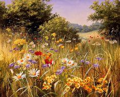 Mary Dipnall | Pastoral Flowers | Detail | Rosenstiel's