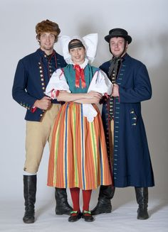 Domažlický kroj půvědkový, Traditional folk costumes -  South Bohemia, Czech Republic.