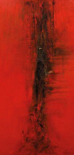 赵无极   红色经典作品 - Red China