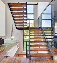 #Modern #House Nearby Lake Michigan With a Sense of Verticality by Joseph Trojanowski