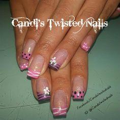Girly Spring by TwistedNails - Nail Art Gallery nailartgallery.nailsmag.com by Nails Magazine www.nailsmag.com #nailart