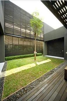 Modern Minimalist Garden Design Courtyard Layout Plans