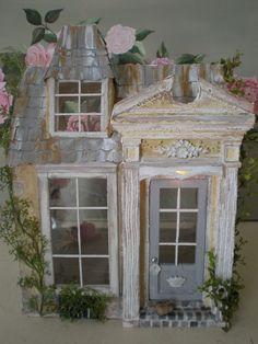 Cinderella Moments: Ballerina Cottage Custom Electric Dollhouse