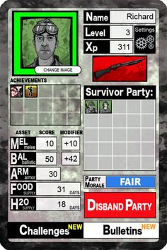 Survivor Z: Choose Your Post-Apoc Fate