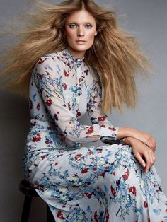 Publication: Allure Magazine June 2015 Model: Constance Jablonski Photographer: Patrick Demarchelier