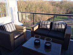 Lounge kussenset, outdoor, sunproof, waterafstotende stof, buitenkussens, tempotest
